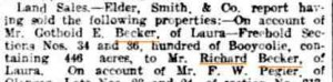 Becker_Land_buy_Screen_shot_The_Advertiser__SA_Friday_1_October_1909__