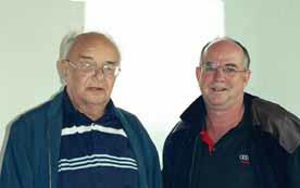 Historian Walter Dittrich (Drehsa) and Darryl Day (Australia)