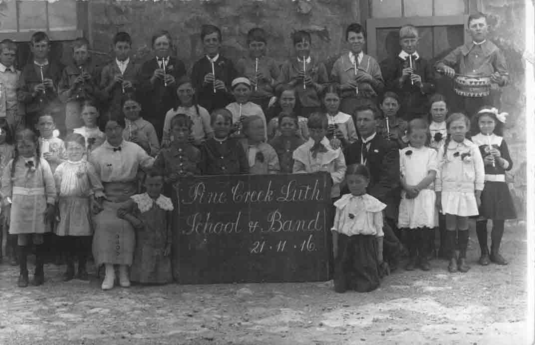 School_Band_21.11.1916_