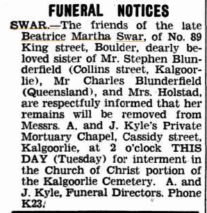 Swar_Beatrice_Martha_funeral
