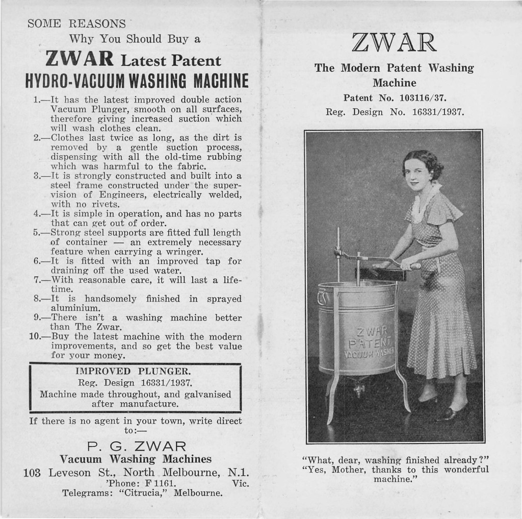 Zwar Washing Machine 001