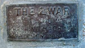 Name Plate - Kevin Zwar
